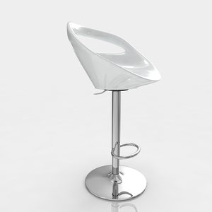 3d model bar stool 9