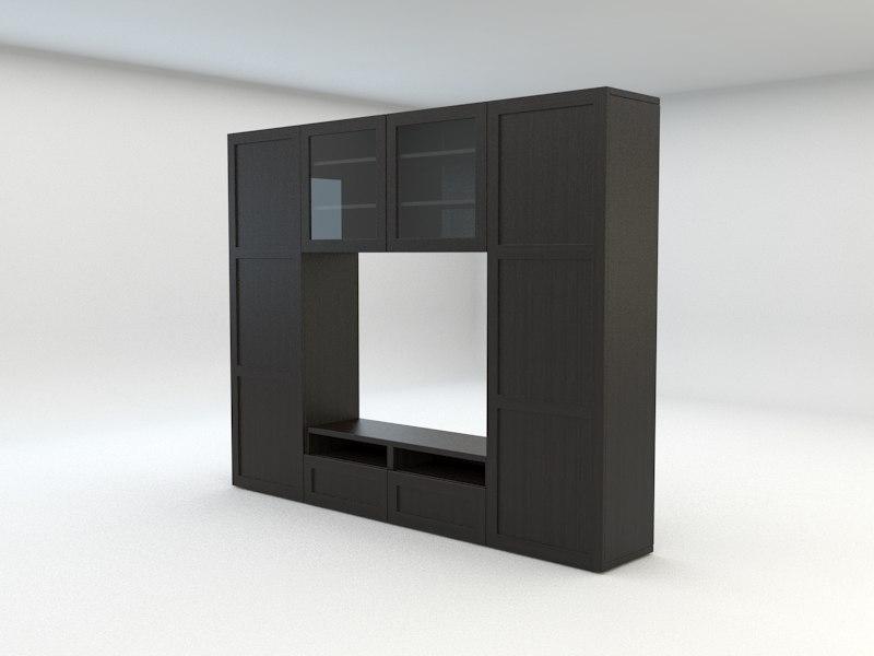 3d model ikea besta