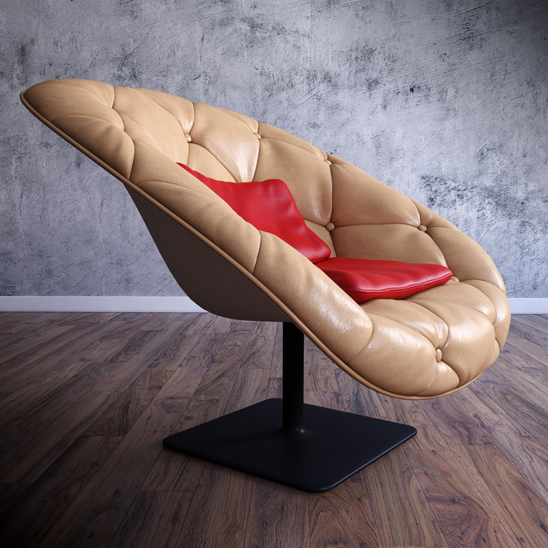 3d chair seating furniture
