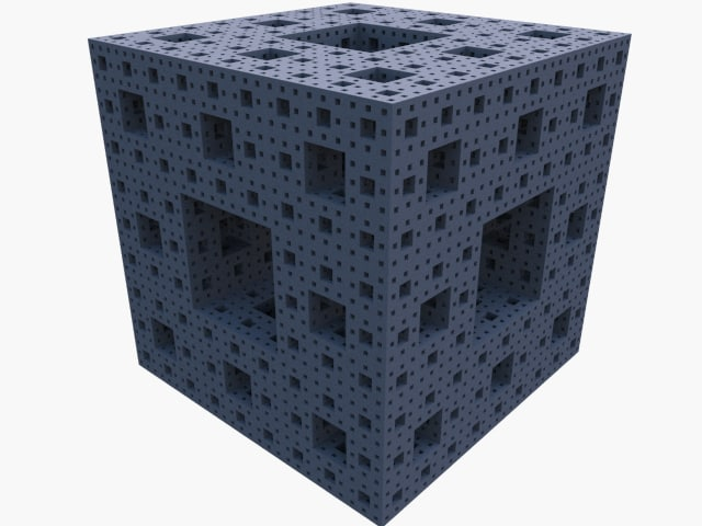 fractal cube dxf free