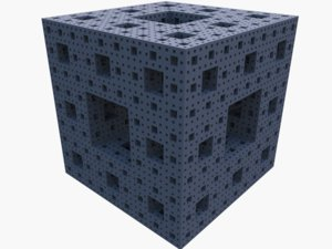 fractal cube dxf free