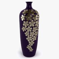 3d 3ds daisy vase
