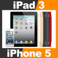Apple iPhone 5 and New iPad 3 with Smart Cover