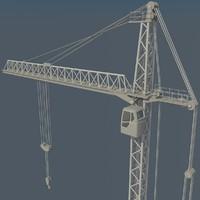 3d tower crane