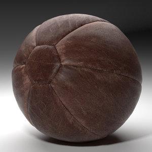 medicine ball 3d max