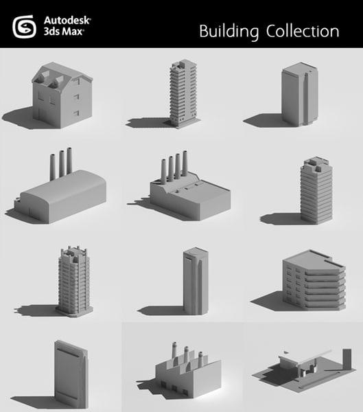 3d house skyscraper model