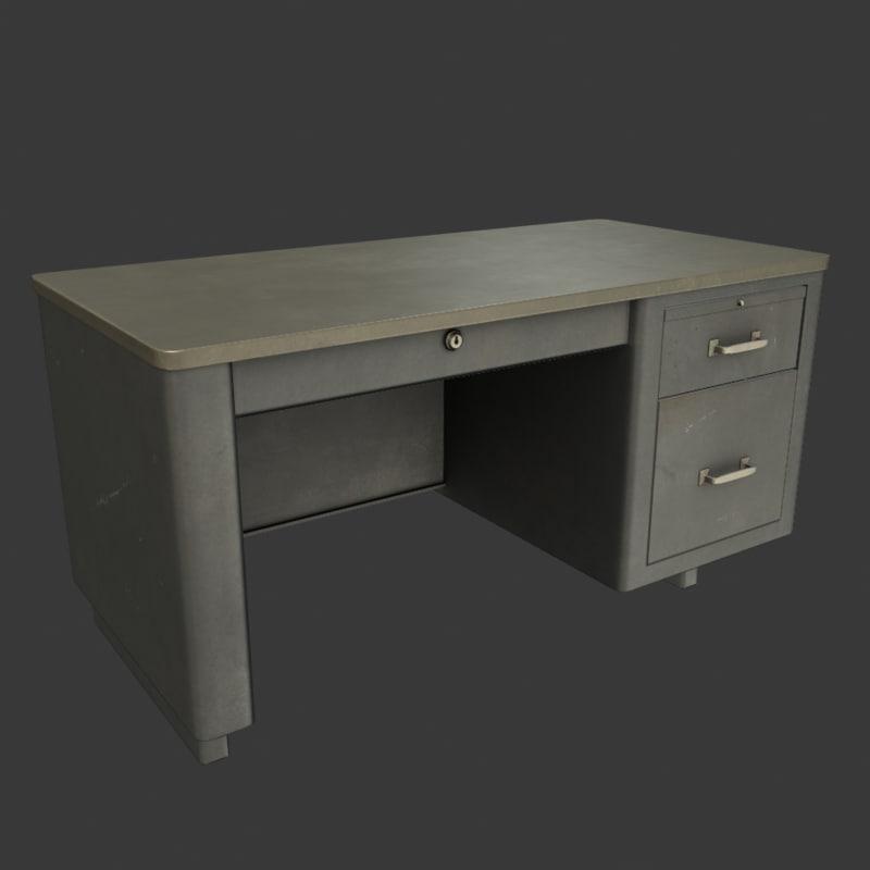 3d ready desk