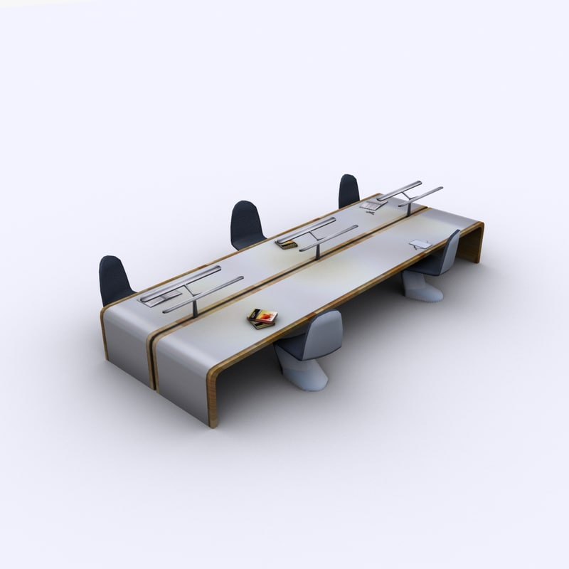 maya modern desk