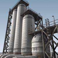 3d model refinery parts