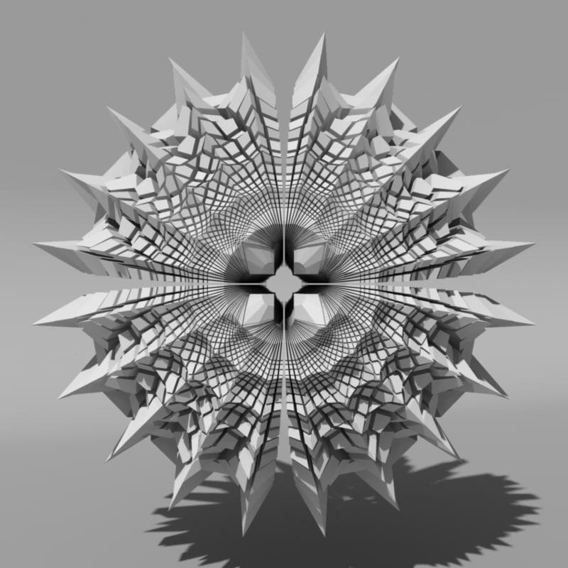 voronoi tessellation c4d