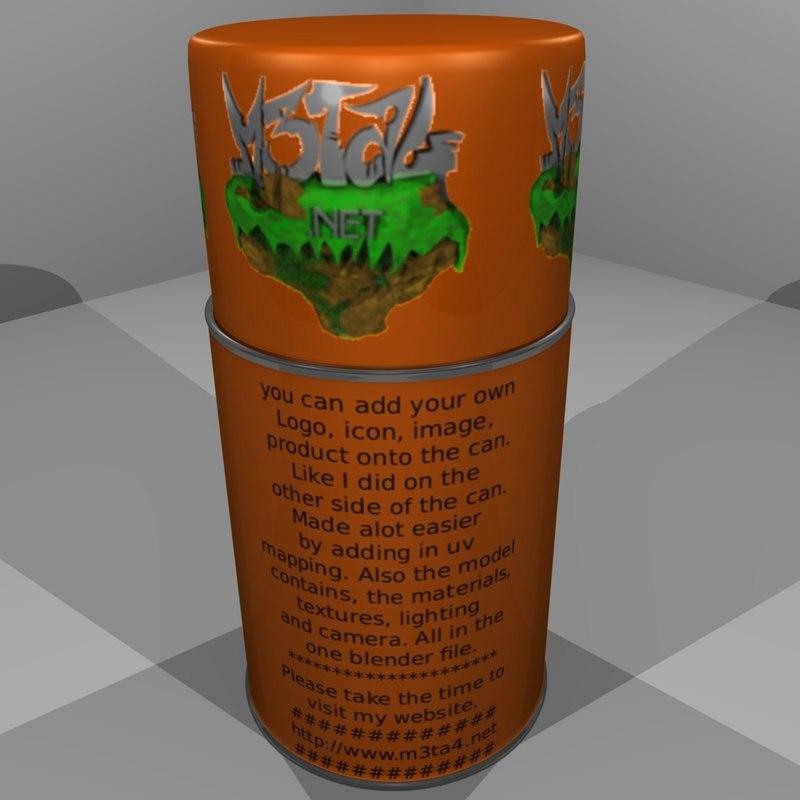 3d spray paint customized
