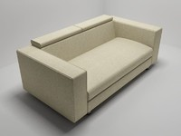 3d modern sofa gerry bodema model