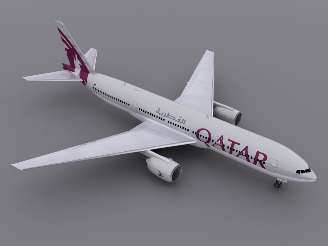 3d aircraft qatar