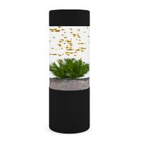 max aquarium cylindrical