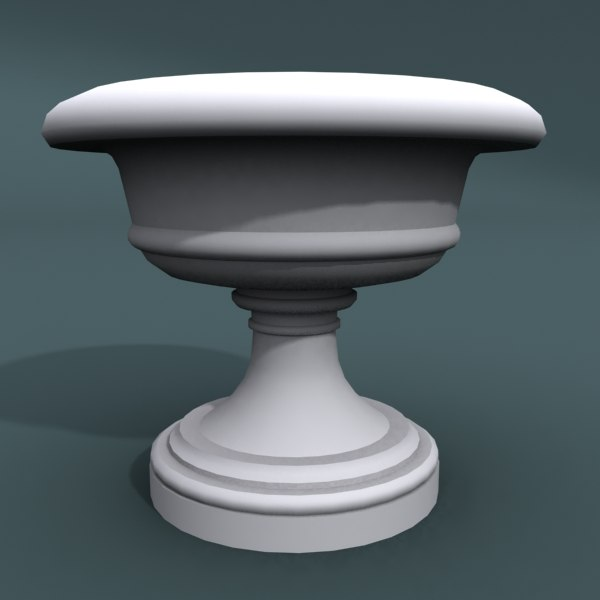 3d designed pottery model