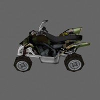 low poly ATV 1