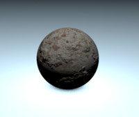 free cannon ball 3d model