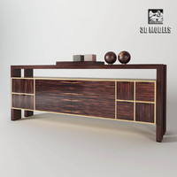 3d model chest annibale colombo sospesa
