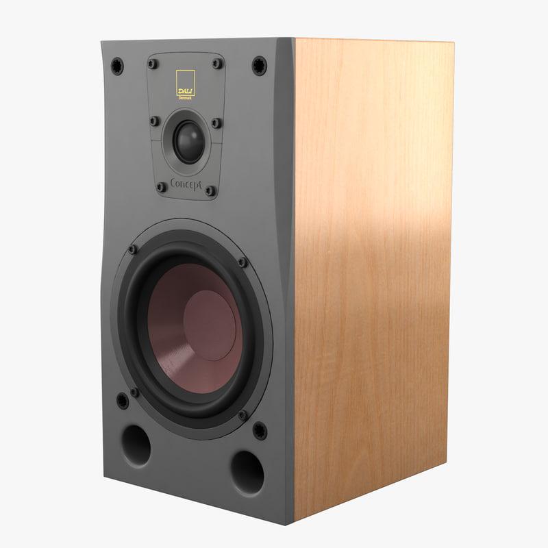 max dali concept 1 speaker