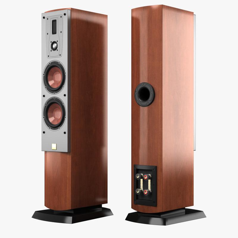 dali mentor 5 speaker 3d model