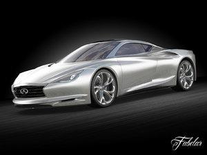 infiniti emerg-e concept car max