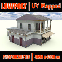 free building s 3d model