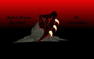 3d mystick dragon kite model