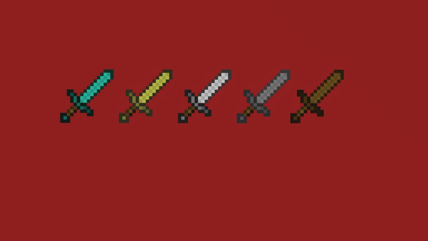 3d model sword minecraft