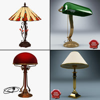 3d 3ds table lamps