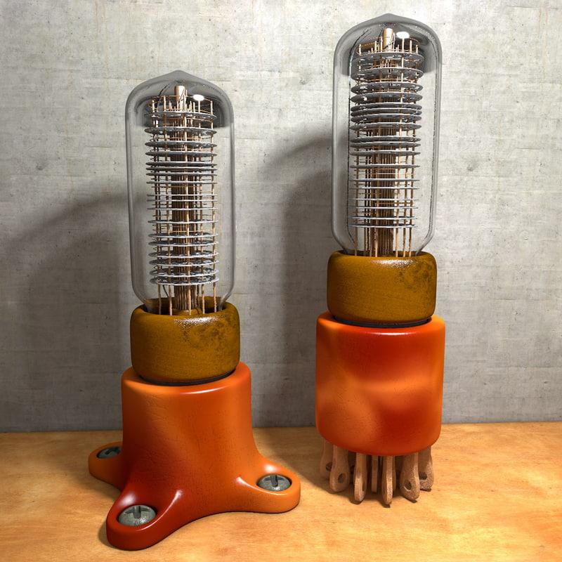 3d old cathode
