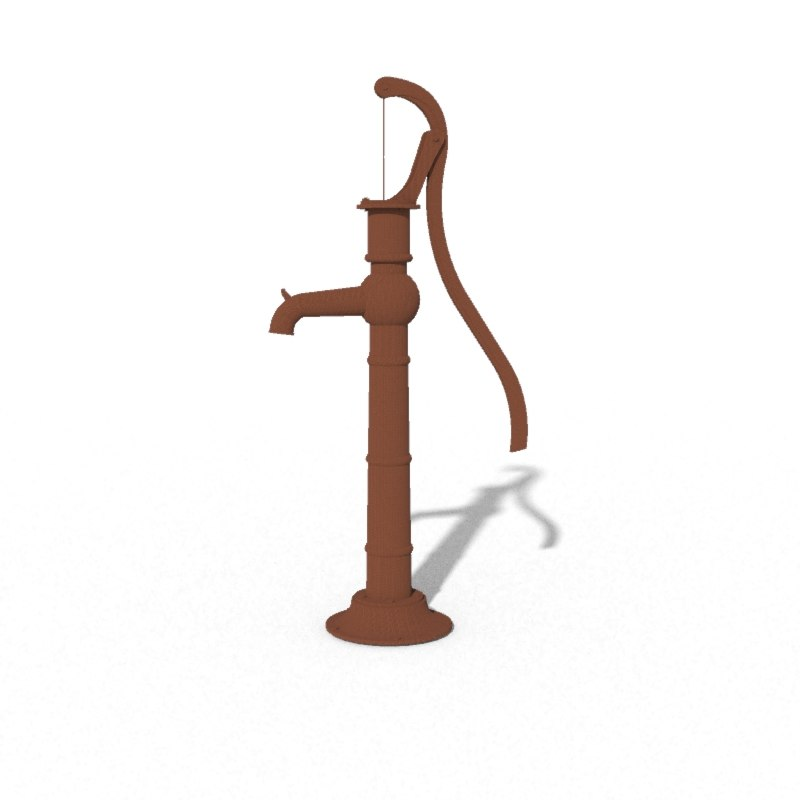 fbx old rusty water pump
