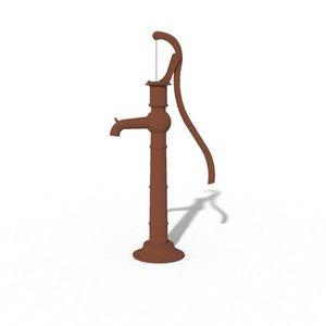 fbx old rusty water pump