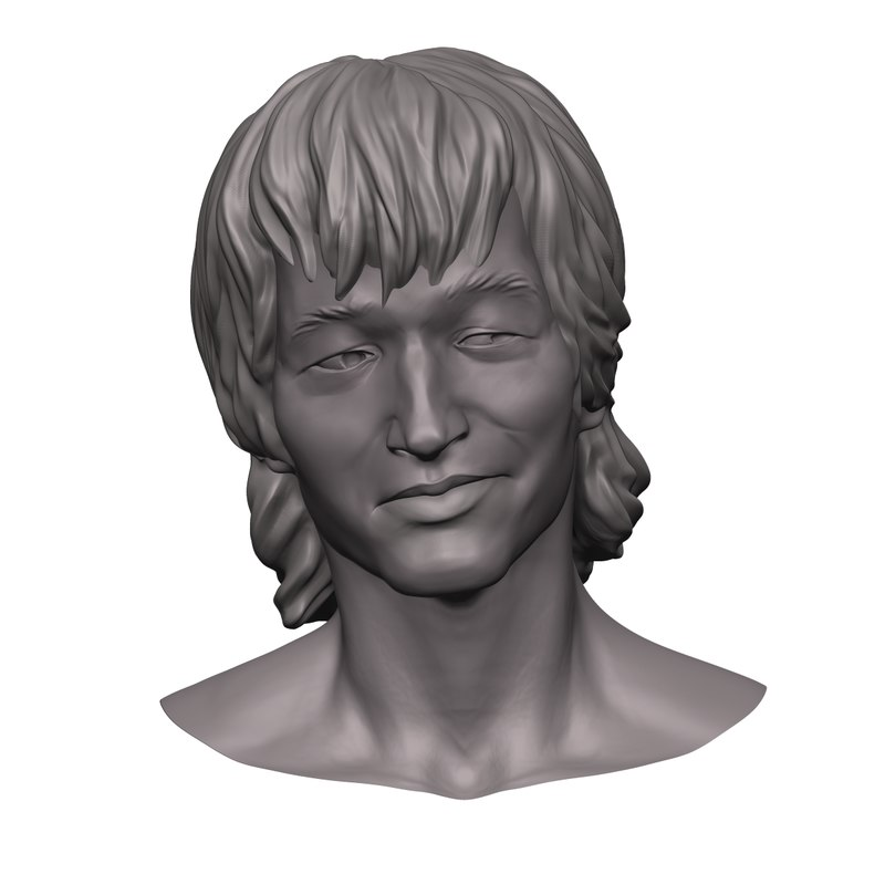 free 3ds mode zbrush head