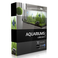 CGAxis Models Volume 24 Aquariums