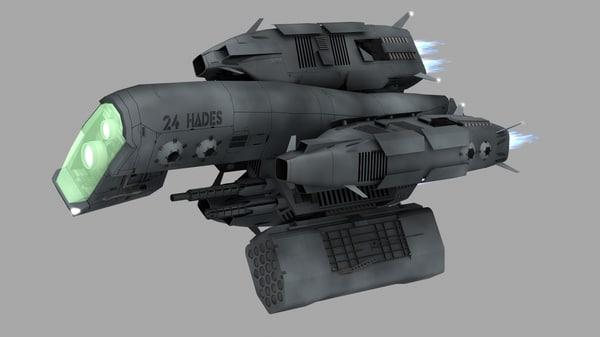 robotic fighter 3d obj