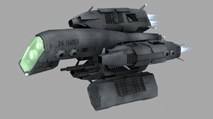 robotic fighter 3d obj