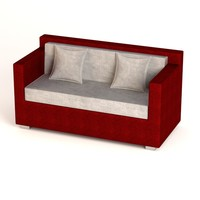 3ds garden furniture sofa