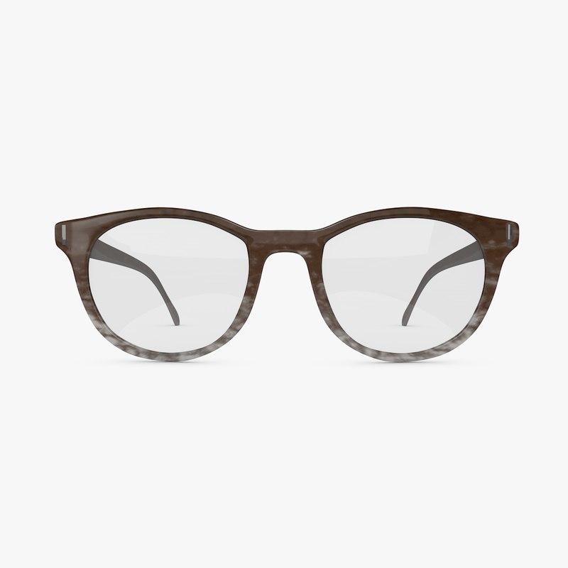 vintage eye glasses 3d c4d