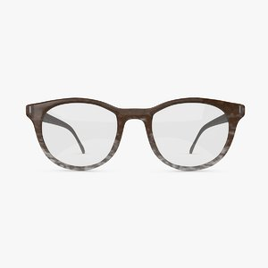vintage eye glasses 3d c4d