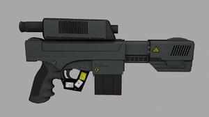 3ds laser pistol