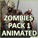 Male Zombies Collection