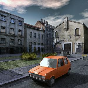 residential buildings 3d max