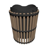 trashcan trash 3d model