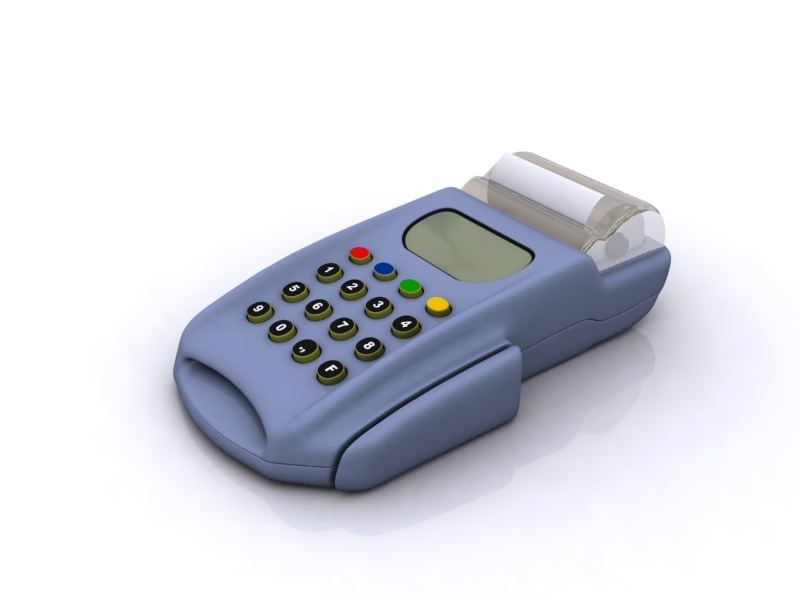 3d finance pos credit card model