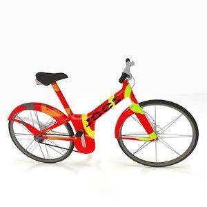 modern electric bike obj