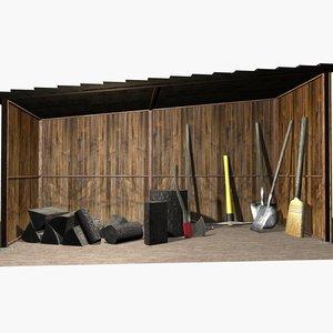 shed tools max