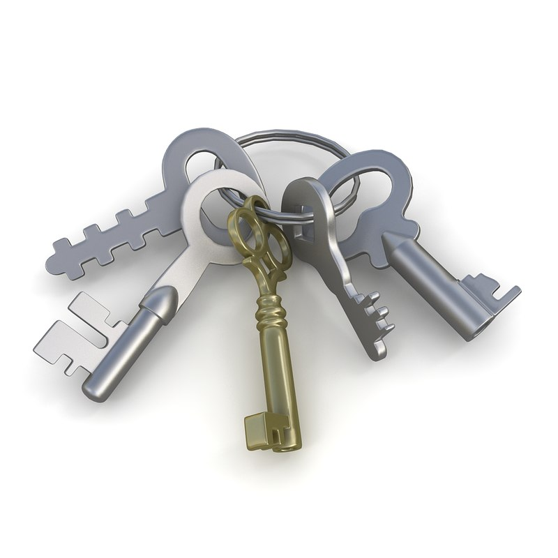 3ds keys chain