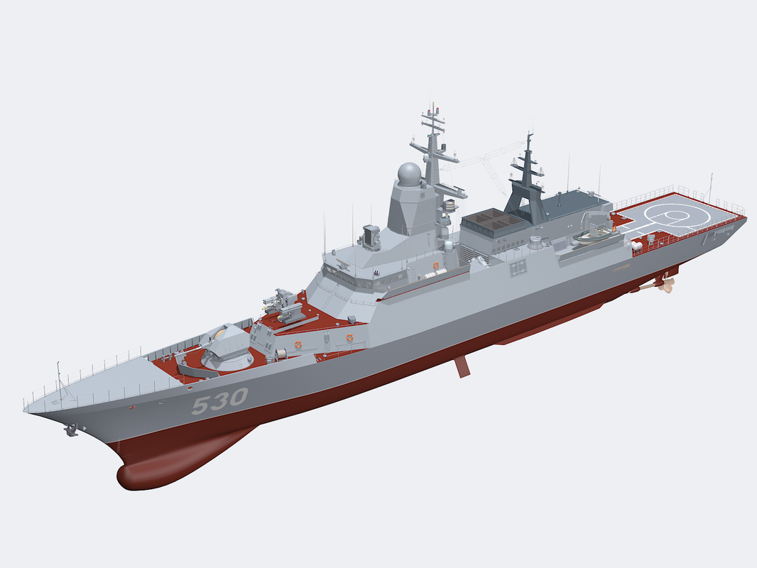3ds project 20380 steregushchy