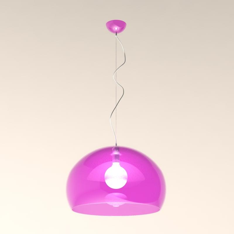 light fl y lamps 3d 3ds