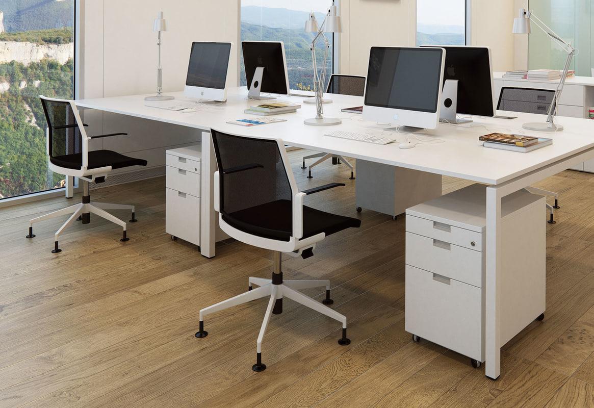 obj modern office chair dis